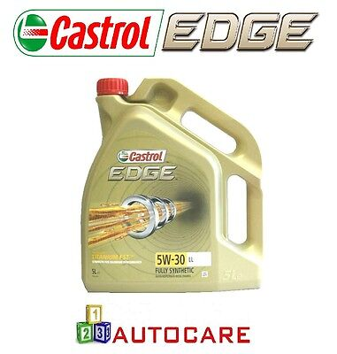 Castrol Edge 5W-30 LL Fully Synthetic Engine Oil 5L For VW Seat Skoda Audi