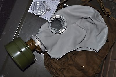 Russian Soviet Union GP5 NBC Gas Mask Comes with Carrier Bag Size Medium New