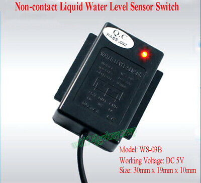 Non-contact Fish Tank Container Liquid Water Level Detect Sensor Switch DC 5V
