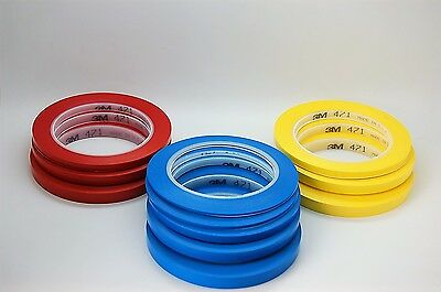 3M™ 471 Vinyl Tape Blue,masking tape decoration tape 2mm to 10mm  33 meter long