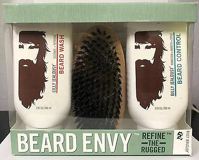 New In the Box Billy Jealousy Beard Envy Kit