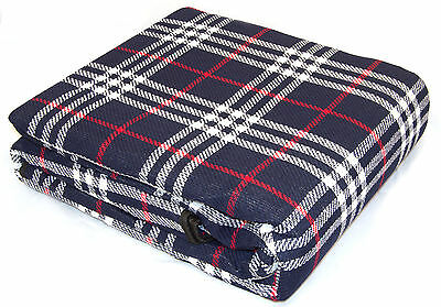 XL Waterproof Backed Travel Picnic Rug Outdoor Camping 300 x 220cm Blanket
