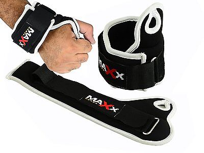 Maxx Adjustable Neoprene weighted wrist strap WEIGHTS WRAPS STRAPS FITNESS MMA