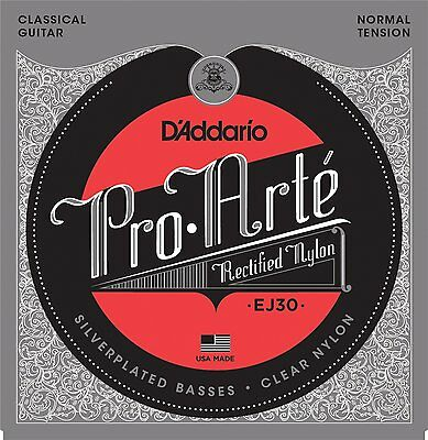 D'Addario EJ-30 Pro-Arté Rectified Trebles Normal Tension Classic Nylon Strings