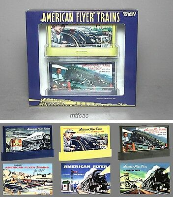 Lionel American Flyer 6-49978 Classic Catalog Billboard Set
