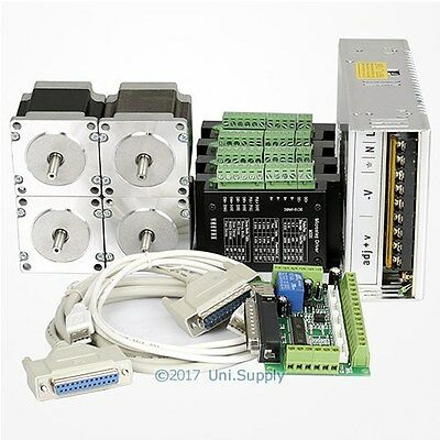 CNC Kit 4Axis Nema23 Stepper Motor M335 Stepper Driver For Mill/Router/Engraving