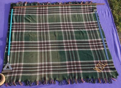 White Star Line Rms Olympic Titanic Era 2Nd Cl Deck Chair Steamer Blanket