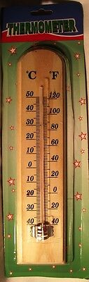 Glass Replacement Thermometer Tube With White Backing Scale