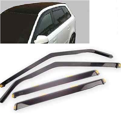 Audi A4 B5 Yrs 95-01 4 Piece Tinted Wind Deflectors Front & Rear Doors Visors