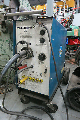 MILLERMATIC 35 DC ARC Constant Welding Power Source/Wire Control/Feeder System