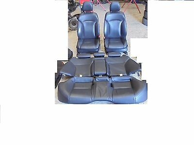 Lexus IS250 front seats and rear seat  2007 luxury BLACK LEATHER