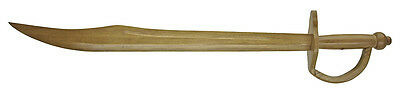 "NEW PIRATES 30"" Cutlass Wooden Training Practice Costume SWORD"