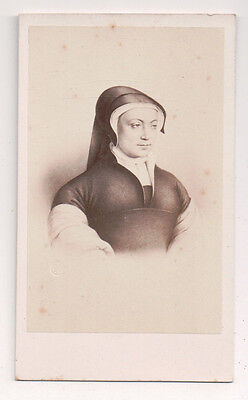 Vintage CDV Louise of Savoy Duchess Nemours Mom Francis I E. Desmaisons Photo
