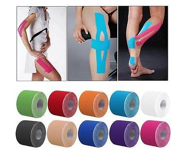 Multicolor Kinesiology Tape Athletic muscle Support Sport Physio Therapeutic Hot