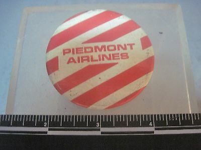 vintage Piedmont Airlines PIN BACK BUTTON PIN
