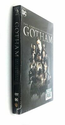 Gotham: The Complete Second Season 2 (DVD, 2016, 6-Disc Set)