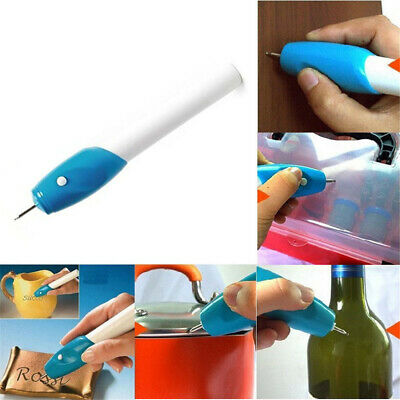 1PC Handheld Electric Engraving Etching Engraver Carve Pen for Glass Metal Wood