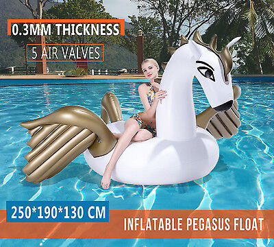 0.3MM thickness Inflatable Pool Float Pegasus Swan Water Swimming Pool Toys