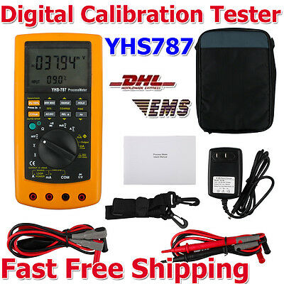 Newest YHS-787 Digital Process Calibration Calibrator Multimeter Meter Tester