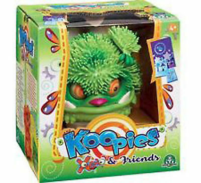 Xeno KOOPIES GREEN Interactive Toy - BABY MONSTER - SOUNDS & MOVES & EMOTIONS