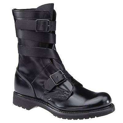 """LEFT BOOT ONLY Corcoran Black Leather Tanker 10"""" Boots 5407 Men's 8.5D 8 1/2D"""