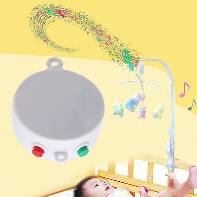 12 Songs Rotary Baby Mobile Crib Bed Toy Music Box Movement Bell Nursery