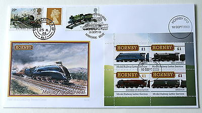 Buckingham Hornby & Travelling Post Office Railway Cover 2003 Margate & Tpo H/s