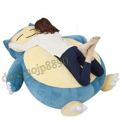 "DIY 59"" Pokemon Snorlax Plush Toy Doll Pillow Bed CASE WITHOUT STUFF Xmas Gift"