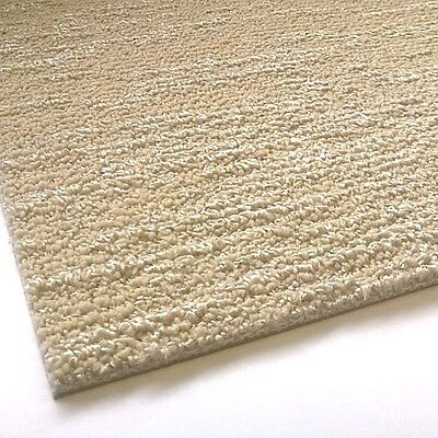 DESSO Wave 9097 CARPET TILES Cream Taupe Silver Pattern Heavy Duty Hard Wearing