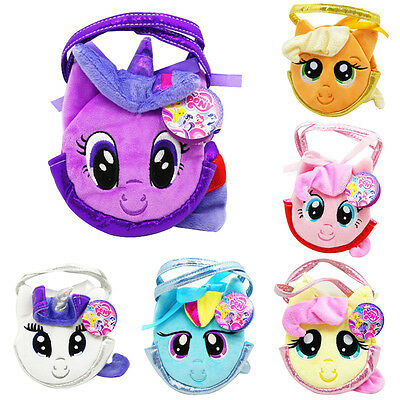Girls Plush Handbag My Little Pony Kids Purse Bag Soft Wallet Children Toys Gift