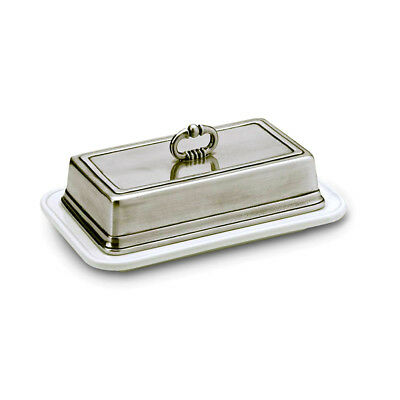 NEW Match Pewter Convivio Double Butter Dish