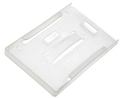 Opaque Rigid Multi ID Card Badge Holder, Takes upto 5 cards Horizontal Vertical