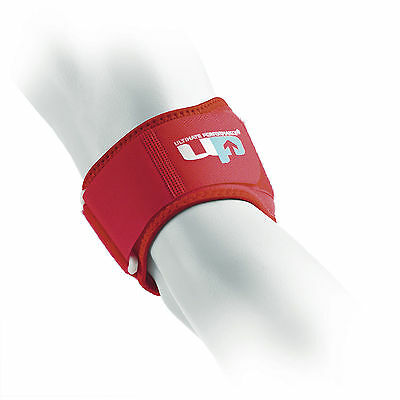 UP One Size Red Ultimate Tennis Elbow Competition Support Pain Relief Strap