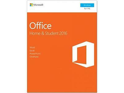 Microsoft Office Home and Student 2016 Reteail Box P2