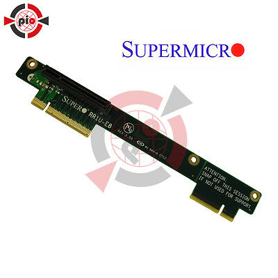 Supermicro  Riser Card PCI-e x8  Model: RR1U-E8 (REV 3.00)