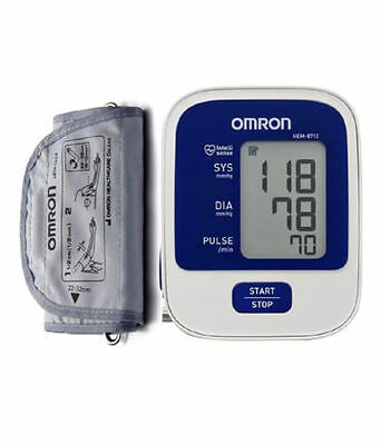 New Omron Blood Pressure Monitor HEM-8712 - Easy ,One Touch Operation