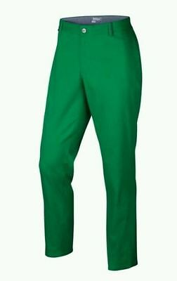 NEW Nike Modern Fit Washed Green Golf Men's Pants Trousers 725672 319 MANY SIZES