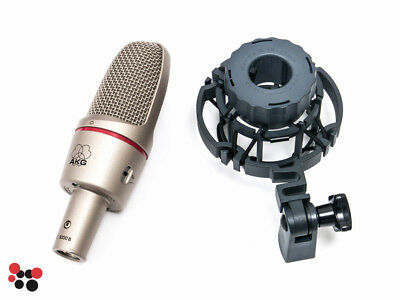 AKG C3000B with shock mount