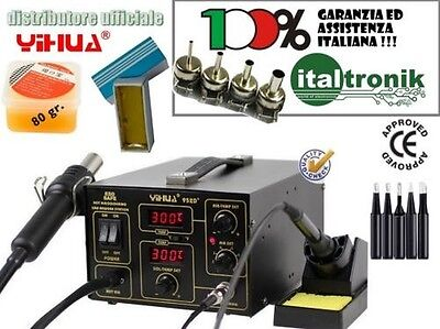 Soldering Station Desoldering Tool Air Hot Nozzles 5 Tips Long-Lasting Paste