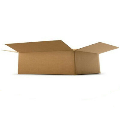 "Cardboard Postage Boxes Single Wall Postal Mailing Small Parcel Box 9"" x 7"" x 3"""