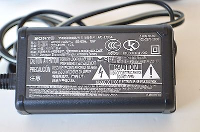Genuine OEM Sony AC-L25A Camcorder AC Battery Adapter Charger