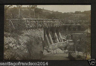 1358.-BARCELONA - Parque - Guell (JB) REAL PHOTO