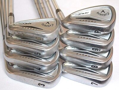 Callaway Apex Pro forged 3-PW iron set with KBS Tour-V 120 X-stiff flex shafts
