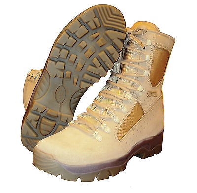 British Army - Desert Meindl Boots - Brand New - Various Sizes -