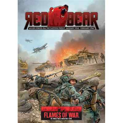 FoW-FW117 - FLAMES of WAR: Red Bear -Revised Edition