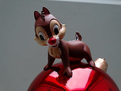Disney Store Chip N Dale Tree Topper Xmas Ornament Decoration Light Up Bauble