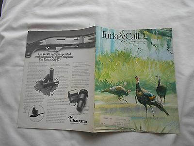 Turkey Call Magazine-May-June,1977-Russ Smiley Cover