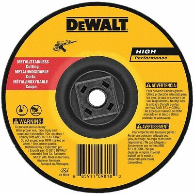 "DEWALT DW8424H 4-1/2"" x 0.045"" x 5/8""-11 Metal Cutting Wheel"