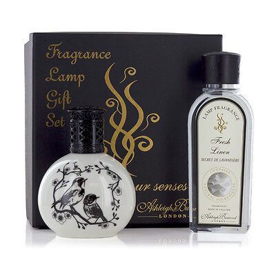 Ashleigh & Burwood Premium Fragrance Lamp Gift Set - Little Birds and Fresh Line