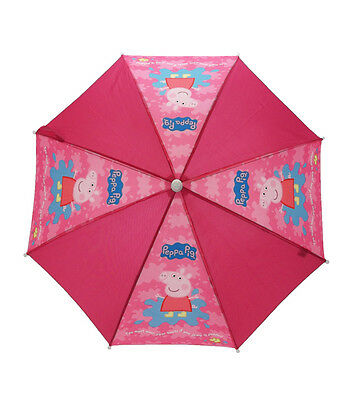 "Peppa Pig ""You Must Wear Your Boots If You Jump In Puddles"" Umbrella"